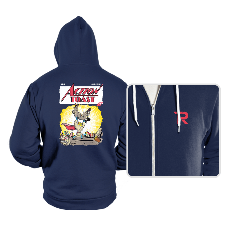 Action Toast - Hoodies - Hoodies - RIPT Apparel