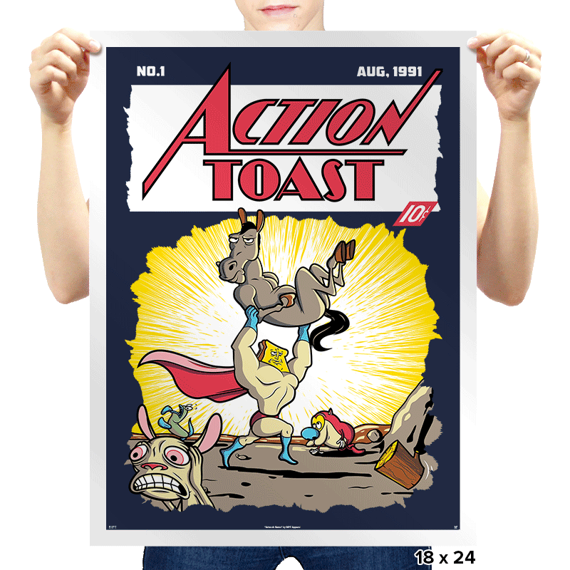 Action Toast - Prints - Posters - RIPT Apparel