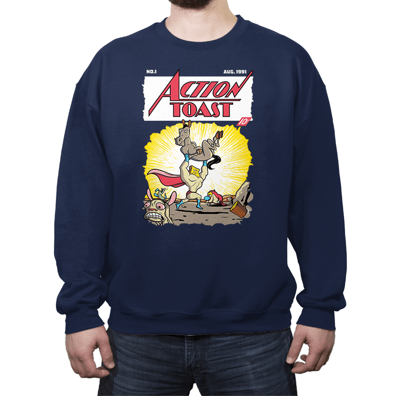 Action Toast - Crew Neck - Crew Neck - RIPT Apparel