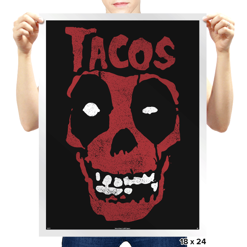 Tacos! - Prints - Posters - RIPT Apparel