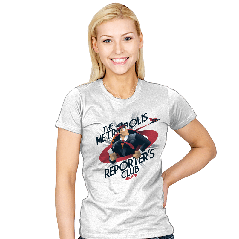 Metropolis Reporter's Club - Womens - T-Shirts - RIPT Apparel