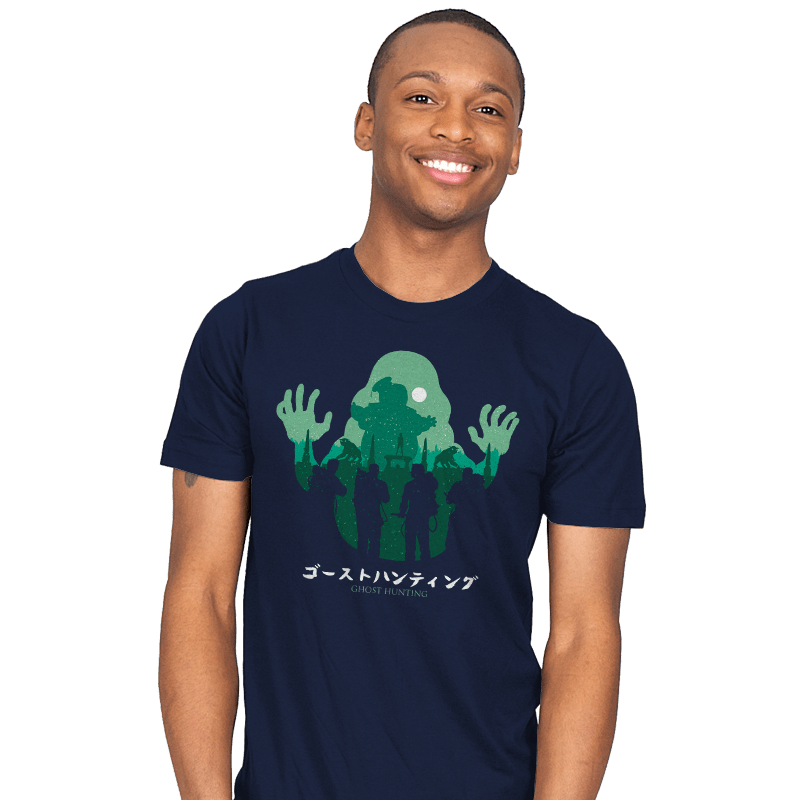 Ghost Hunting - Mens - T-Shirts - RIPT Apparel