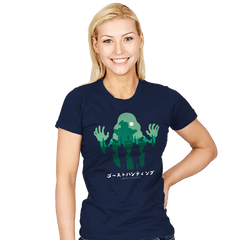 Ghost Hunting - Womens - T-Shirts - RIPT Apparel