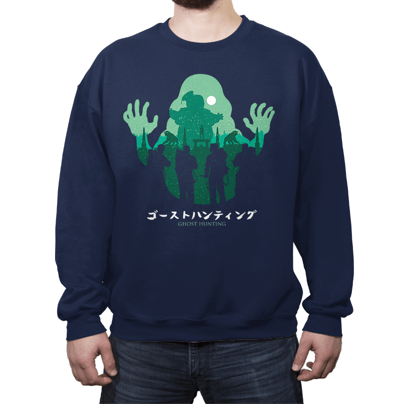 Ghost Hunting - Crew Neck - Crew Neck - RIPT Apparel