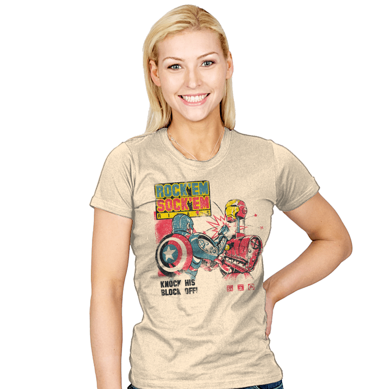 Rock'em Rivals - Womens - T-Shirts - RIPT Apparel