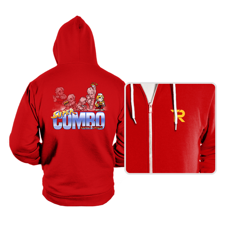 Super Combo With Fries - Hoodies - Hoodies - RIPT Apparel