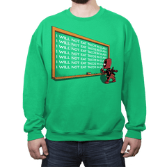 Not Eat Tacos - Crew Neck - Crew Neck - RIPT Apparel