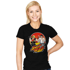 Sweep The Leg - Womens - T-Shirts - RIPT Apparel