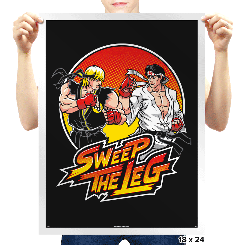 Sweep The Leg - Prints - Posters - RIPT Apparel