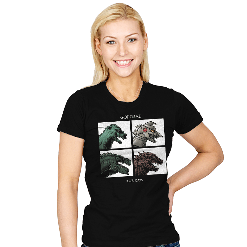 Godzillaz - Kaiju Days - Womens - T-Shirts - RIPT Apparel