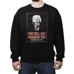 You will NOT remember this. - Crew Neck - Crew Neck - RIPT Apparel