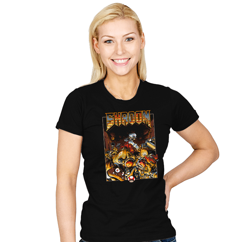 Shroom - Womens - T-Shirts - RIPT Apparel