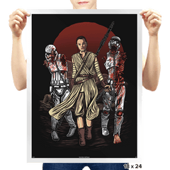The Walking Troopers - Prints - Posters - RIPT Apparel