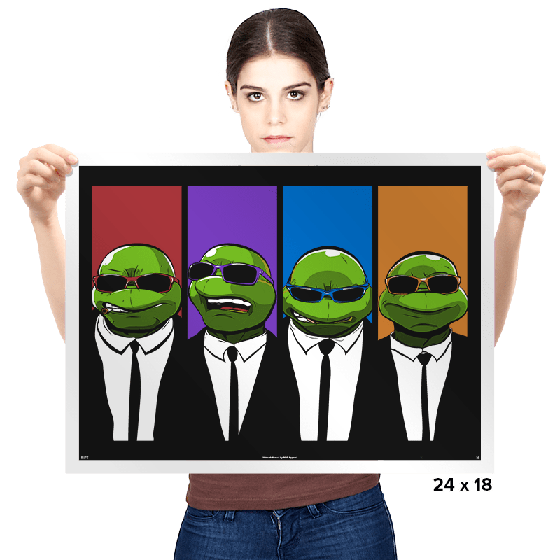 Reservoir Turtles - Prints - Posters - RIPT Apparel