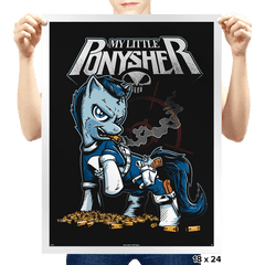 Ponysher - Prints - Posters - RIPT Apparel