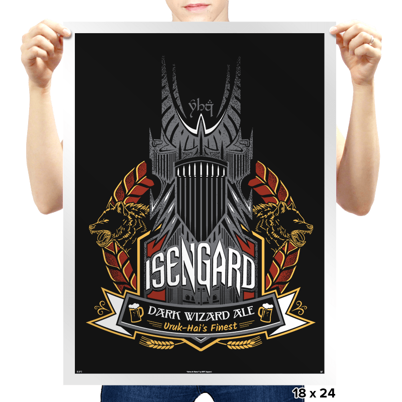 Ale of Isengard - Prints - Posters - RIPT Apparel
