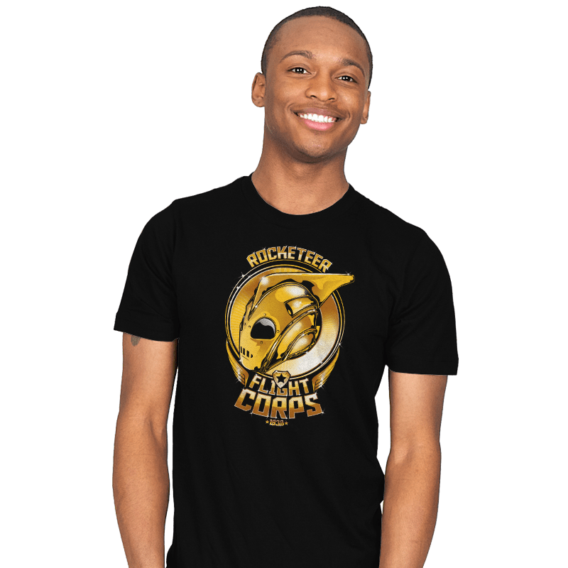 Rocketeer Flight Corps - Mens - T-Shirts - RIPT Apparel