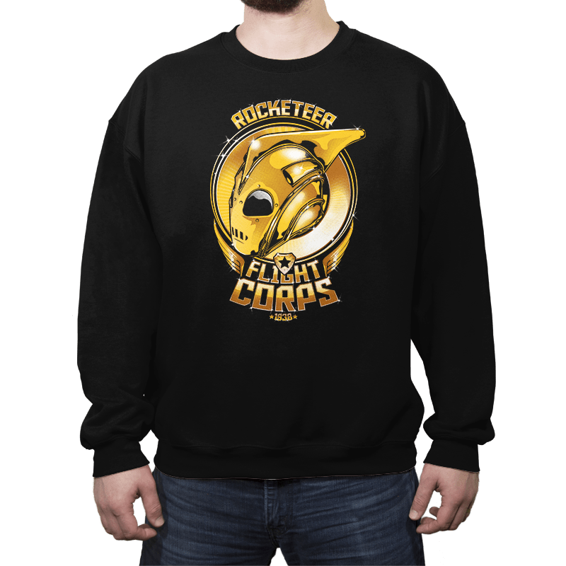 Rocketeer Flight Corps - Crew Neck - Crew Neck - RIPT Apparel