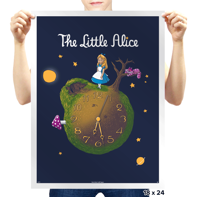 The Little Alice - Prints - Posters - RIPT Apparel
