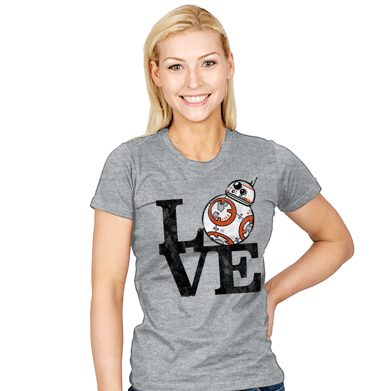 LOVE BB - Womens - T-Shirts - RIPT Apparel