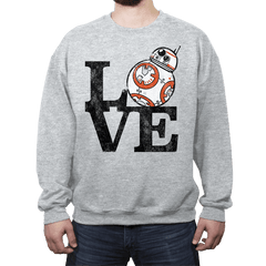 LOVE BB - Crew Neck - Crew Neck - RIPT Apparel