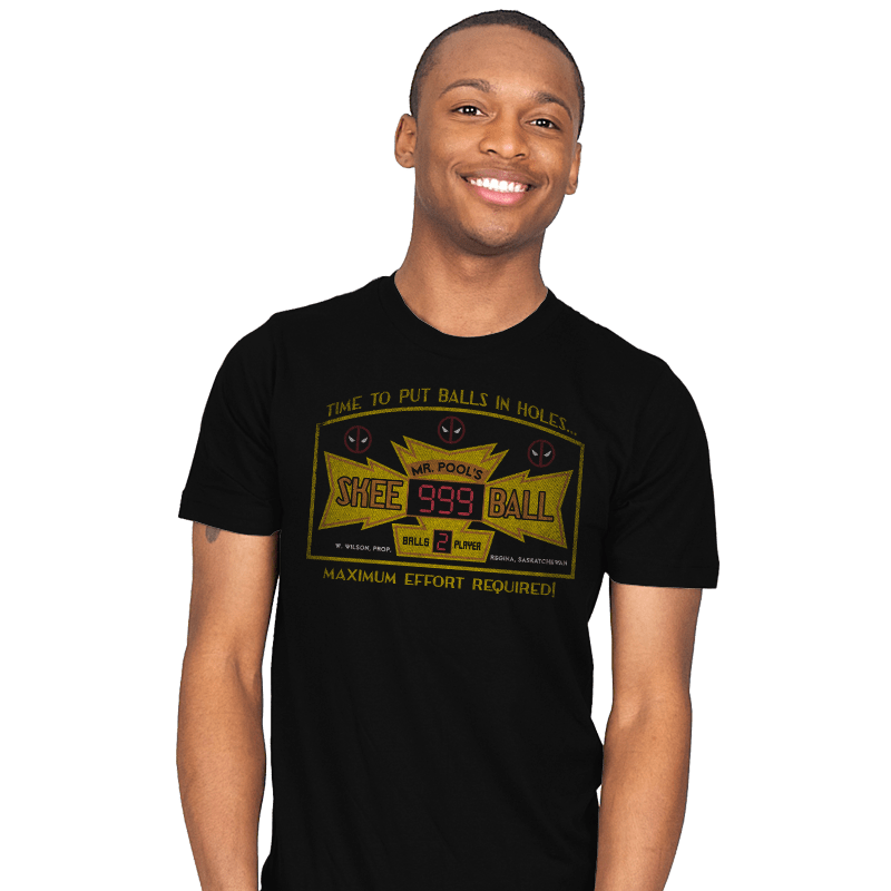Mr. Pool's Skee Ball - Mens - T-Shirts - RIPT Apparel