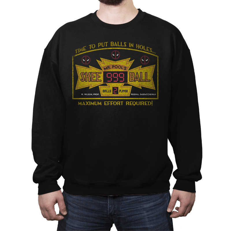 Mr. Pool's Skee Ball - Crew Neck - Crew Neck - RIPT Apparel