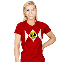 Power Rexnger - Womens - T-Shirts - RIPT Apparel