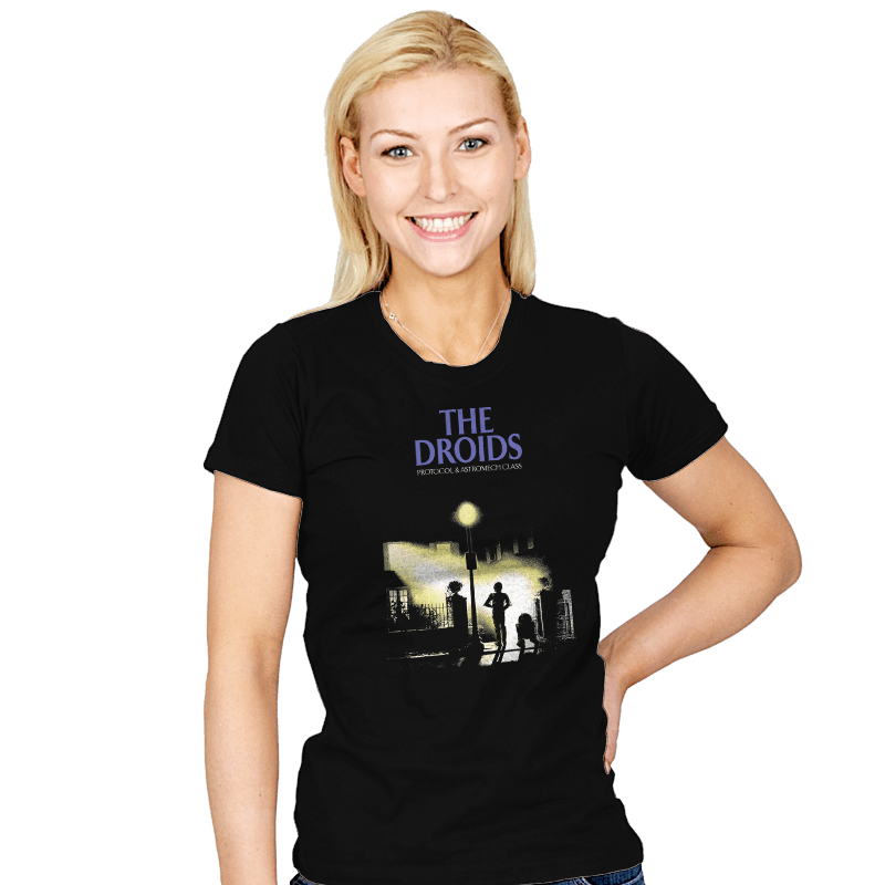 The Droids - Womens - T-Shirts - RIPT Apparel