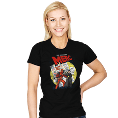The Uncanny Merc - Womens - T-Shirts - RIPT Apparel