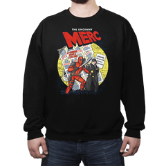 The Uncanny Merc - Crew Neck - Crew Neck - RIPT Apparel
