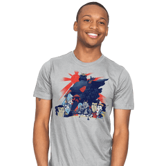 Samurai Wars: Empire Strikes - Mens - T-Shirts - RIPT Apparel