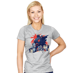 Samurai Wars: Empire Strikes - Womens - T-Shirts - RIPT Apparel