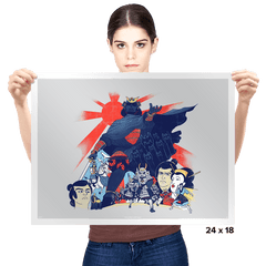 Samurai Wars: Empire Strikes - Prints - Posters - RIPT Apparel