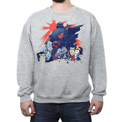 Samurai Wars: Empire Strikes - Crew Neck - Crew Neck - RIPT Apparel