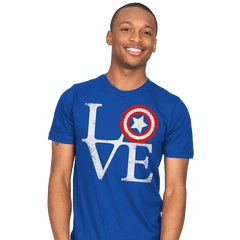 America Love - Mens - T-Shirts - RIPT Apparel