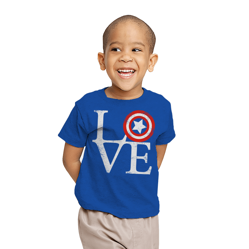 America Love - Youth - T-Shirts - RIPT Apparel