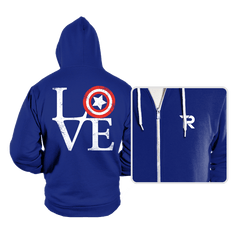 America Love - Hoodies - Hoodies - RIPT Apparel