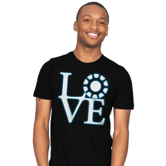 Stark Love - Mens - T-Shirts - RIPT Apparel