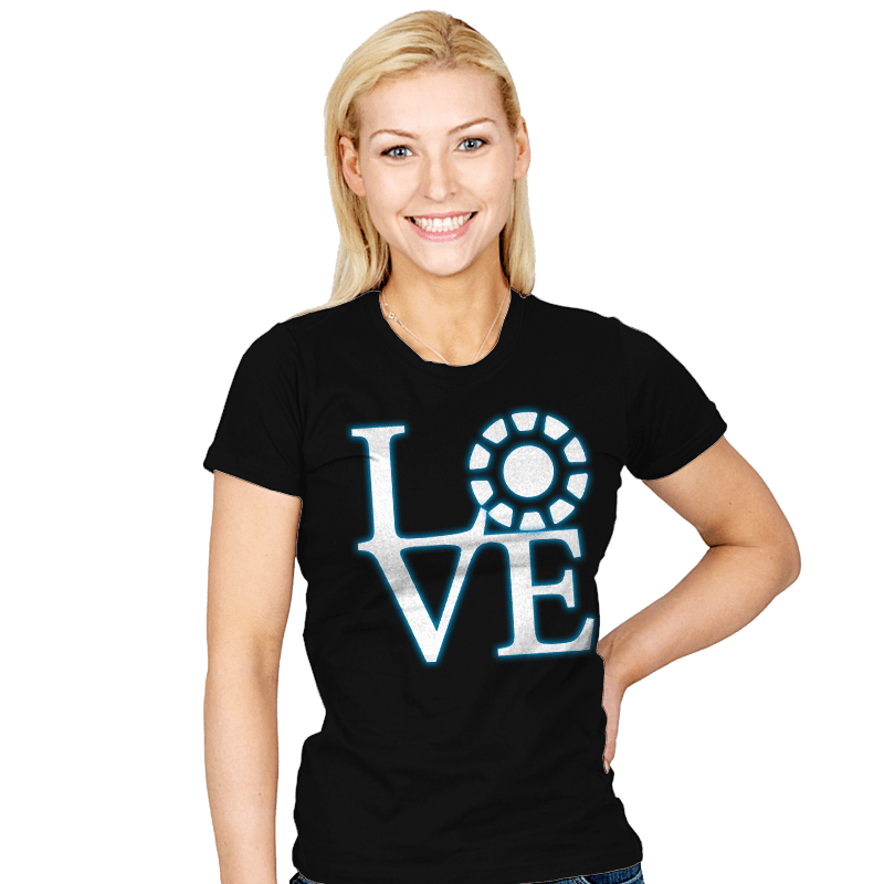 Stark Love - Womens - T-Shirts - RIPT Apparel