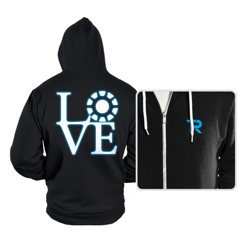 Stark Love - Hoodies - Hoodies - RIPT Apparel