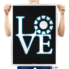 Stark Love - Prints - Posters - RIPT Apparel