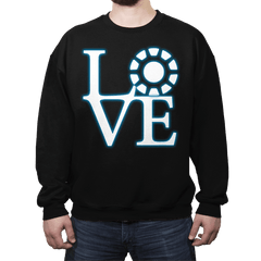 Stark Love - Crew Neck - Crew Neck - RIPT Apparel
