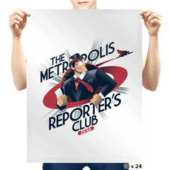 Metropolis Reporter's Club Exclusive - Prints - Posters - RIPT Apparel