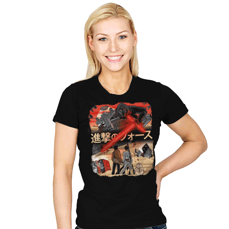 Attack on Jakku Exclusive - Womens - T-Shirts - RIPT Apparel