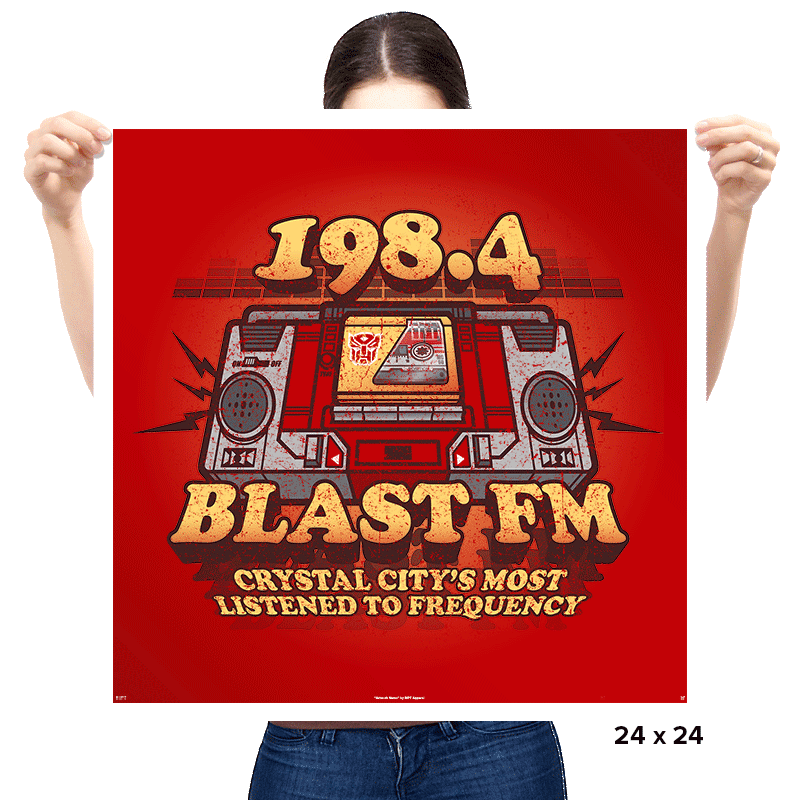 Blast FM Exclusive - Prints - Posters - RIPT Apparel