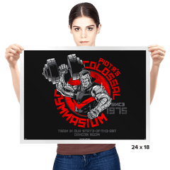 Colossal Gym Exclusive - Prints - Posters - RIPT Apparel
