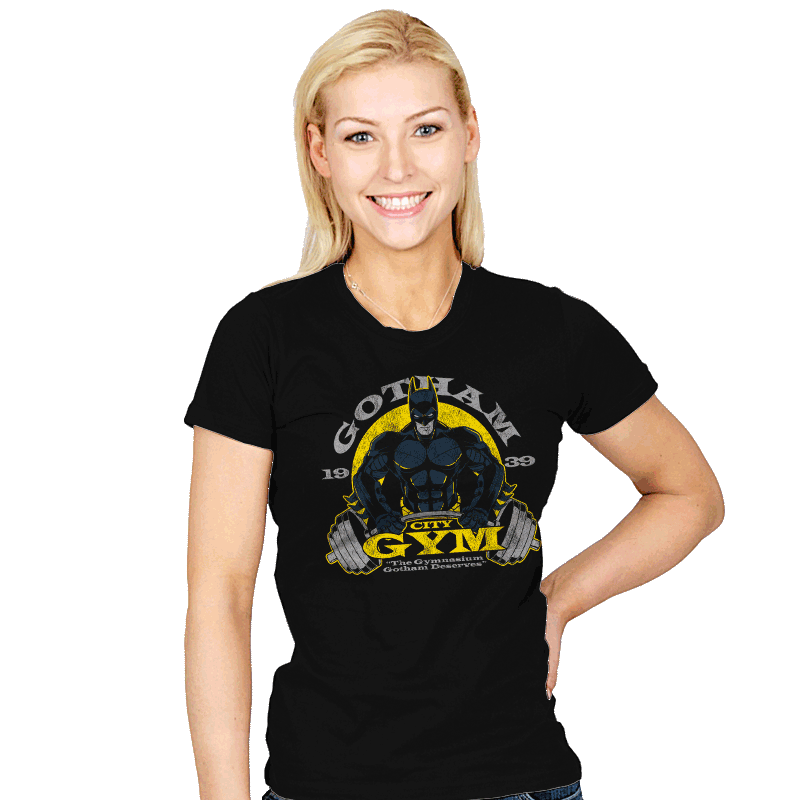 Gotham Gym Exclusive - Womens - T-Shirts - RIPT Apparel