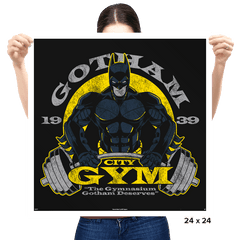 Gotham Gym Exclusive - Prints - Posters - RIPT Apparel