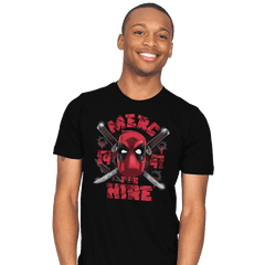 Merc for Hire Exclusive - Mens - T-Shirts - RIPT Apparel